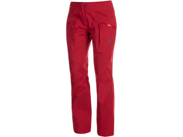 Mammut Haldigrat HS Pantaloni Donna, rosso